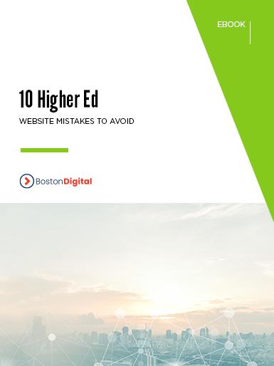 10 Higher Ed Website Mistakes to Avoid.