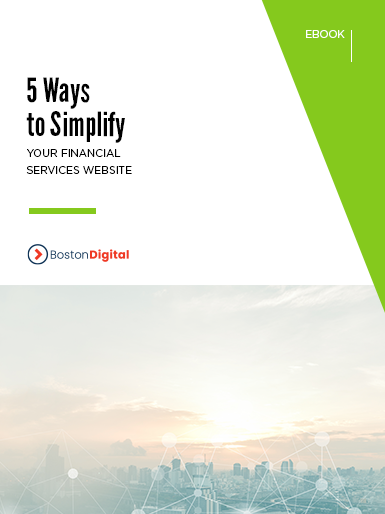 5 Ways to Simplify your Financial Services Website