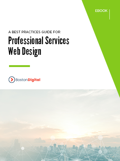 A Best Practices Guide for Professional Services Web Design
