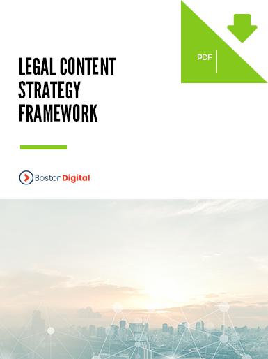 Legal Content Strategy Framework