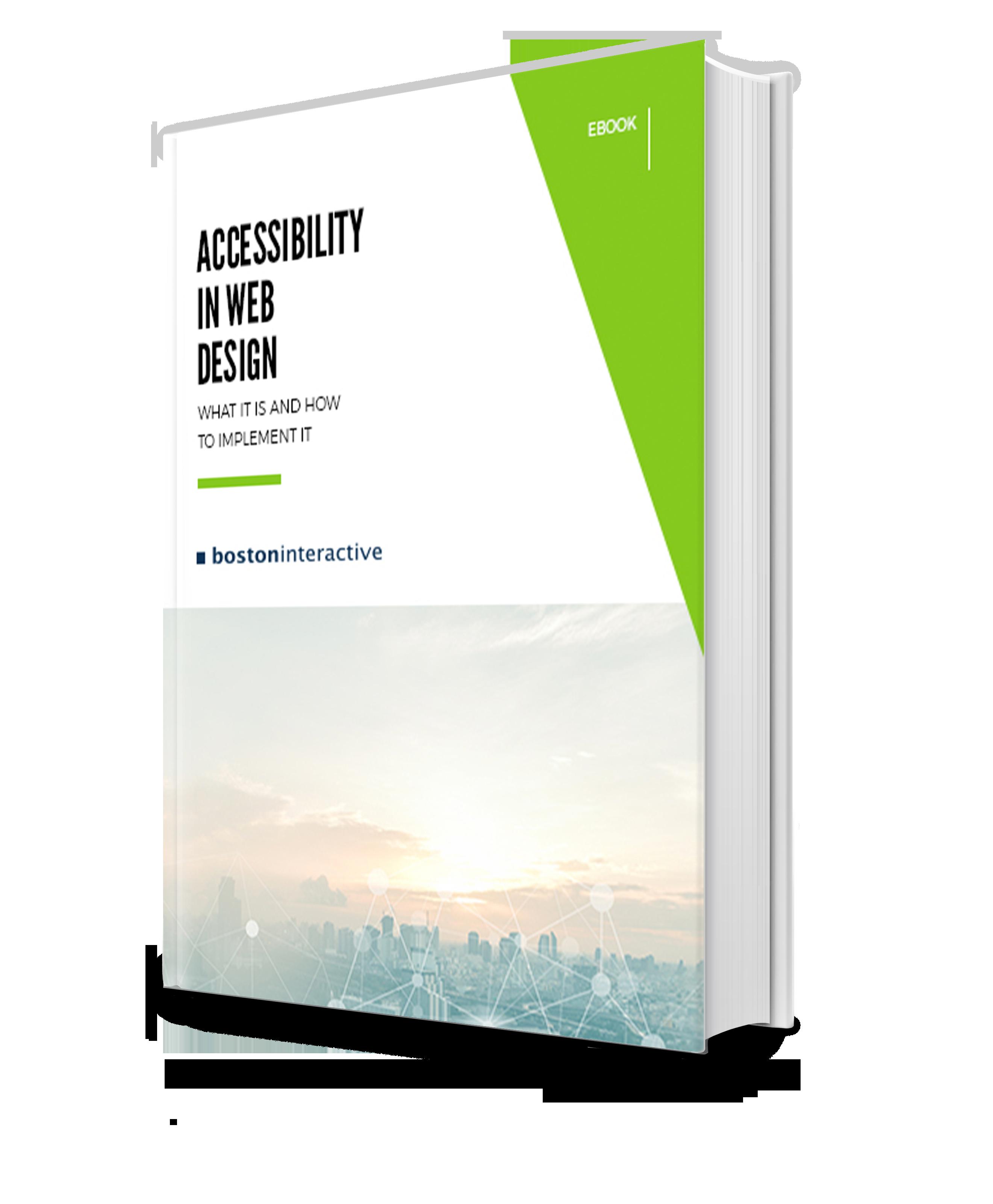 Accessibility in Web Design eBook
