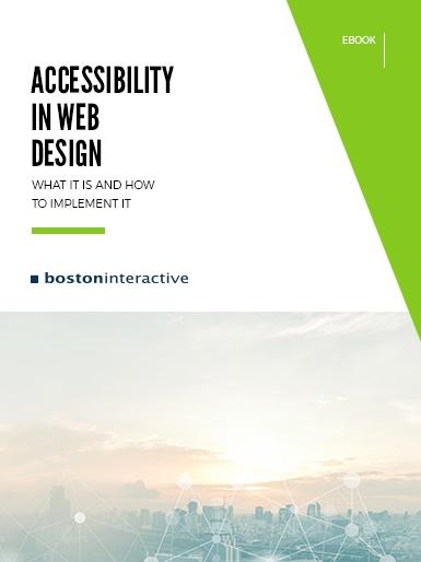 Accessibility in Web Design eBook Cover