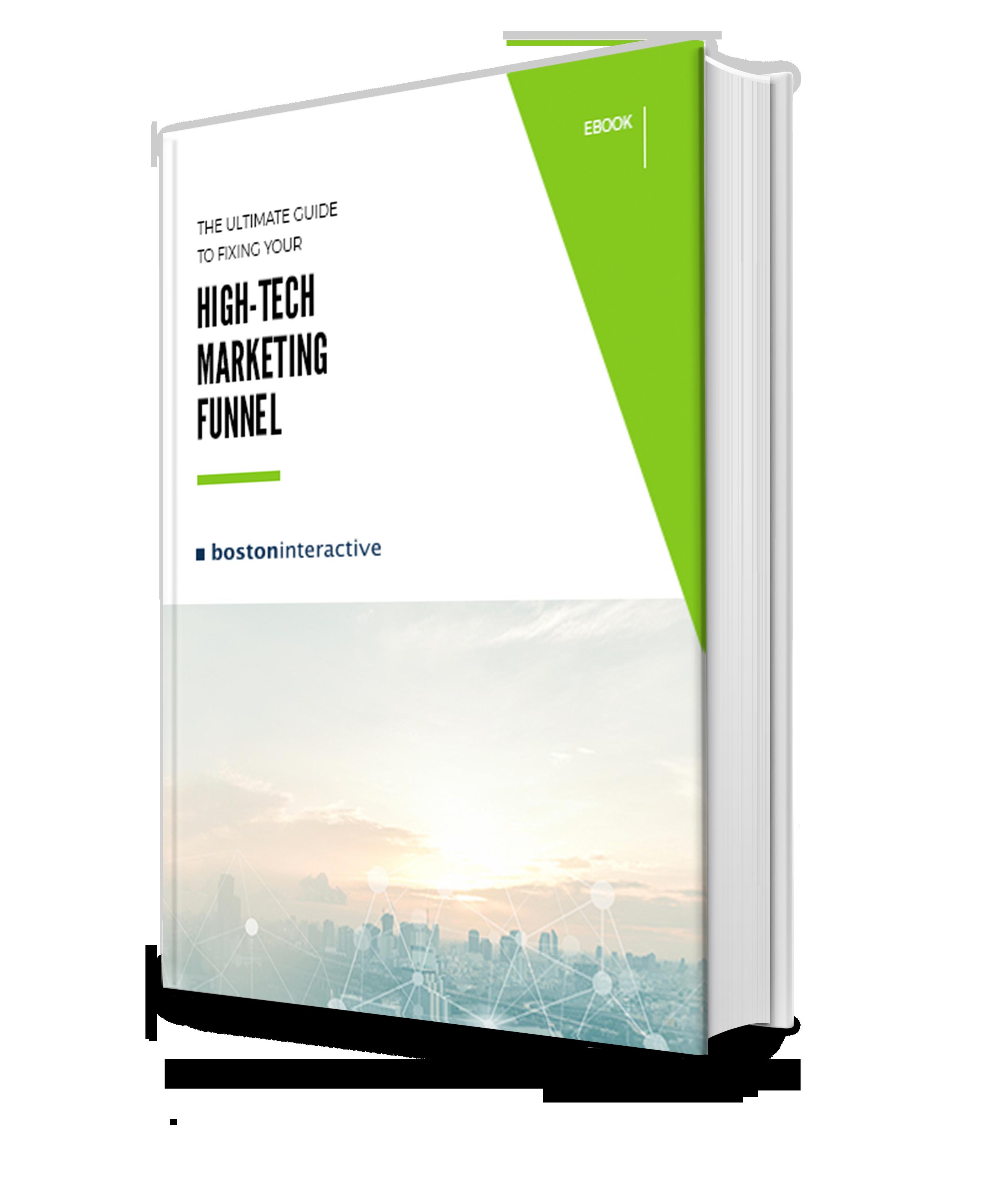 High-Tech Marketing Funnel Ebook